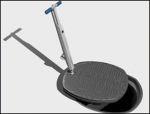Tool for removing MwayPro Watertight Manhole Cover